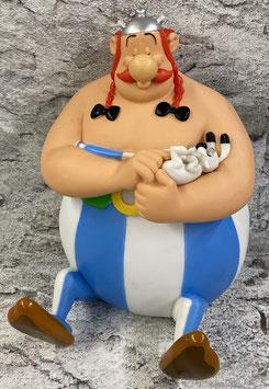 Obelix Kasseli mit Idefix