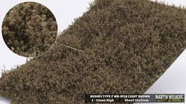 WB-SFLB light Brown Stck. 15x21cm 2-22mm Hoch