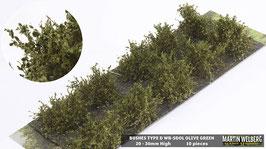 WB-SDOL olive Green je 10 Stck. 20-30mm Hoch