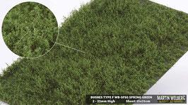 WB-SFSG spring Green Stck. 15x21cm 2-22mm Hoch