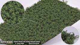 WB-SWMG medium Green jeweils pro Stck. 21x15cm und 2-6mm Hoch