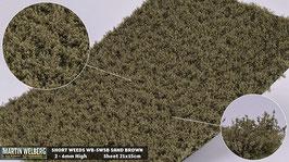 WB-SWSB sand Brown jeweils pro Stck. 21x15cm und 2-6mm Hoch