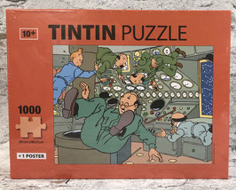 """Tim & Struppi """"Schritte auf dem Mond"""" Puzzle"""