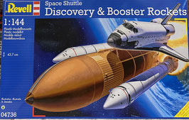 Space Shuttle Discovery w/Booster
