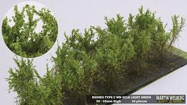 WB-SCLG light Green je 10 Stck. 30-50mm Hoch