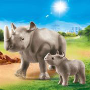 70357 Nashorn mit Baby