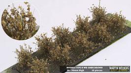 WB-SABR Brown 10 Stck. 20-30mm Hoch