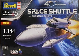 """Space Shuttle w/Bosster """"40 Jahre"""""""
