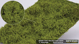 WB-SFLG light Green Stck. 15x21cm jeweils 2-22mm Hoch