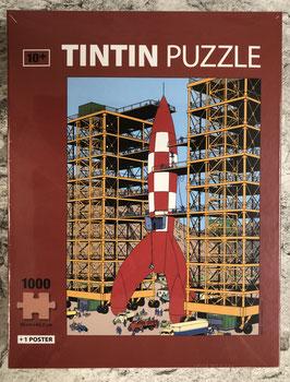 """Tim & Struppi """"Reiseziel Mond"""" Puzzle"""