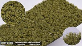 WB-SWM moss Green jeweils pro Stck. 21x15cm und 2-6mm Hoch