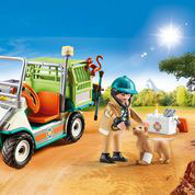 70346 Zoo-Tierarzt mit Fahrzeug