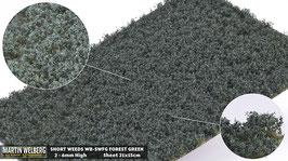 WB-SWFG forest Green jeweils pro Stck. 21x15cm und 2-6mm Hoch