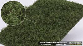 WB-SFMG medium Green Stck. 15x21cm 2-22mm Hoch