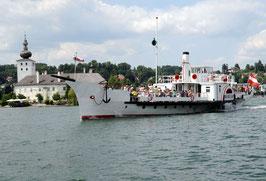 Schlösserfahrt mit Dampfschiff Gisela