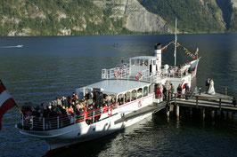 Große Seerundfahrt mit Dampfschiff Gisela