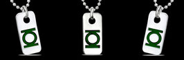 Placa TAG Green Lantern