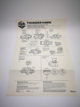 Thunderhawk Original Anleitung ohne Poster
