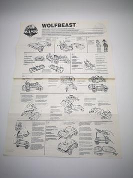 Wolfbeast Original Anleitung ohne Poster