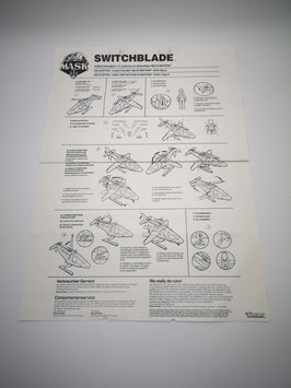 Switchblade Original Anleitung ohne Poster