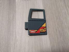 Bulldoze Fahrertür mit Sticker