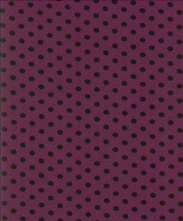 schwarze Punkte violett