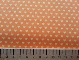 Mini Herzen gelb-orange
