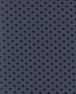 schwarze Punkte jeansblau