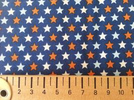 orange-weisse Sterne