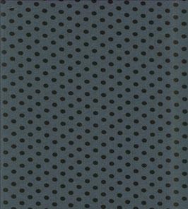 schwarze Punkte petrolblau