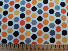 Dots gelb-blau-orange