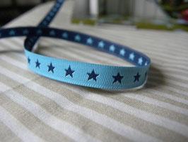 Sterne hell-dunkelblau