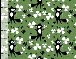 Glücksfuchs grün