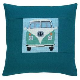 VW-Bus, grün