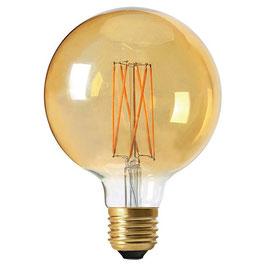 Ampoule E27 - Globe Filament ambre