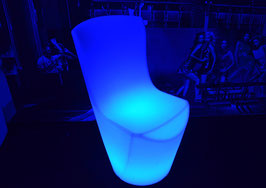 Chaise haute LED - RGB