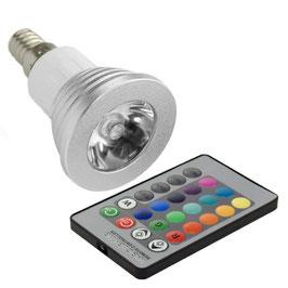 Ampoule E14 - RGB spot