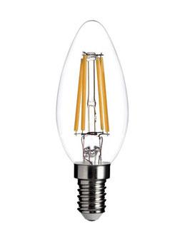 Ampoule E14 - C35 Filament Flamme