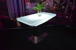 Table de bar rectangle haute LED - RGB