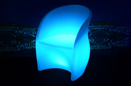 Chaise confort LED - RGB