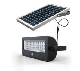 Projecteur solaire autonome