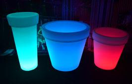 Pot de fleur LED - RGBW