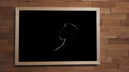 Crépuscule NetB - 40 x 60 cm + CADRE
