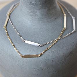 Silberarmband mit Stäbchen