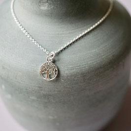 Lebensbaum-Silberarmband