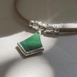 Collier TETHYS vert