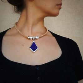 Collier TETHYS bleu