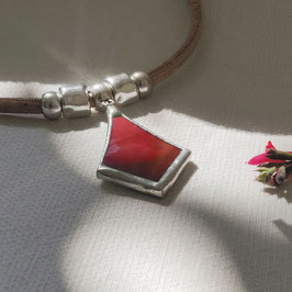 Collier TETHYS rouge
