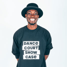 Dance Court Show Case T-shirt zwart