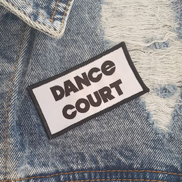 Dance Court kleding patch